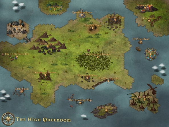 The High Queendom Map